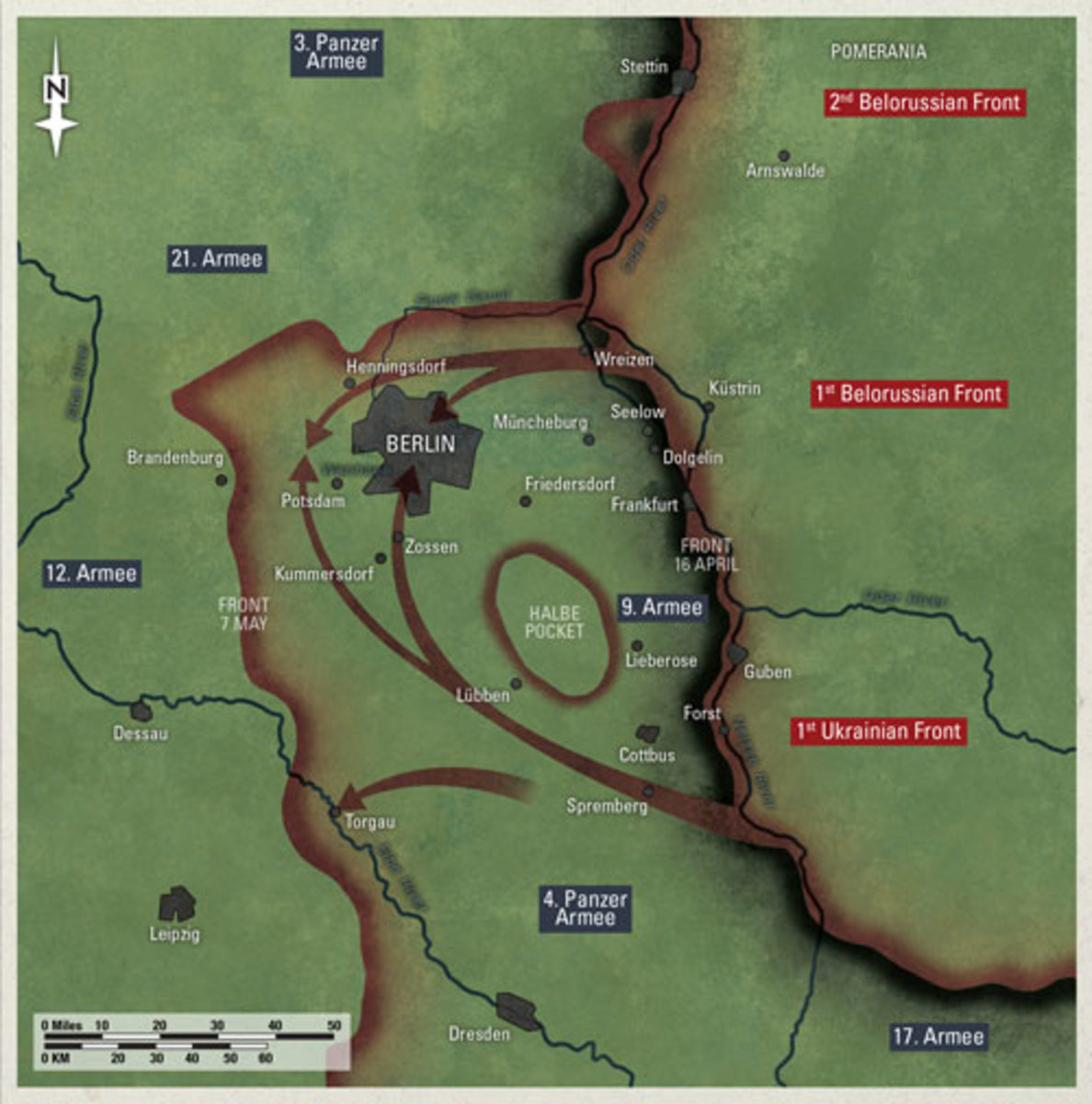 The Wehrmacht's Last Gasp; Desperate Breakout of the 9th Army to Escape Capture by the Red Army