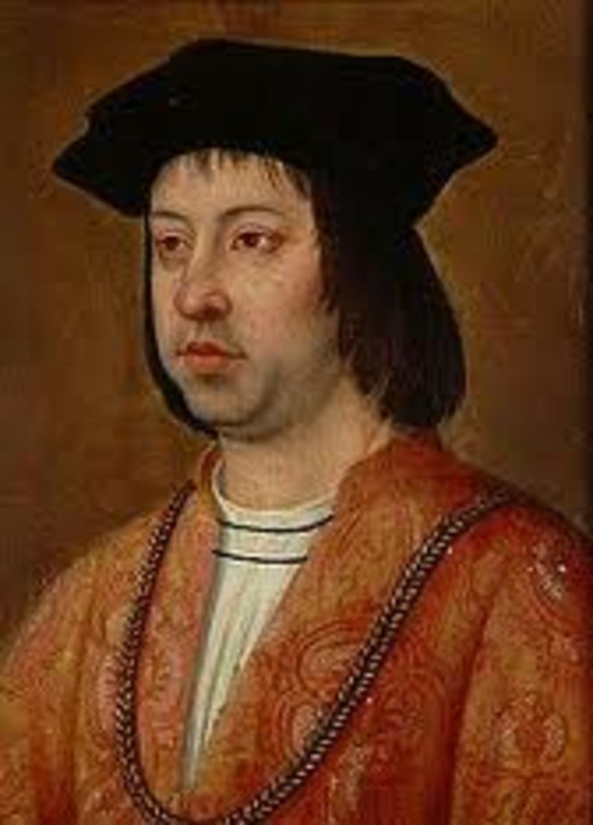 Ferdinand of Aragon. A cruel and selfish father.