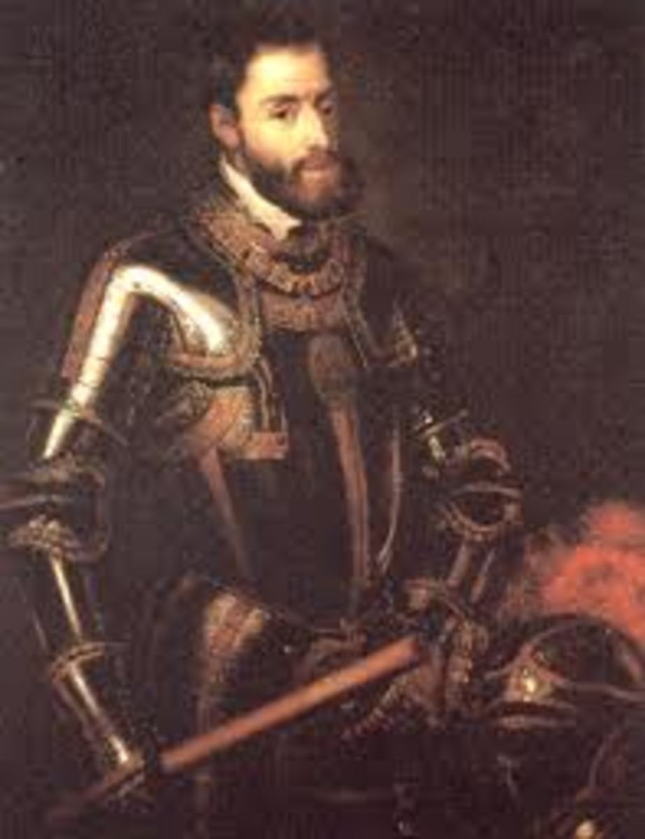 Emperor Charles V. The son who betrayed his mother.