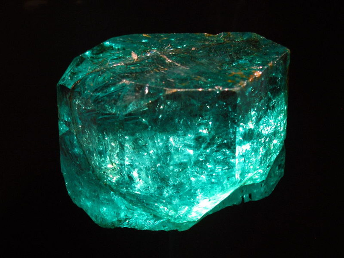 The Gachala Emerald is one of the largest gem emeralds in the world, at 858 carats.