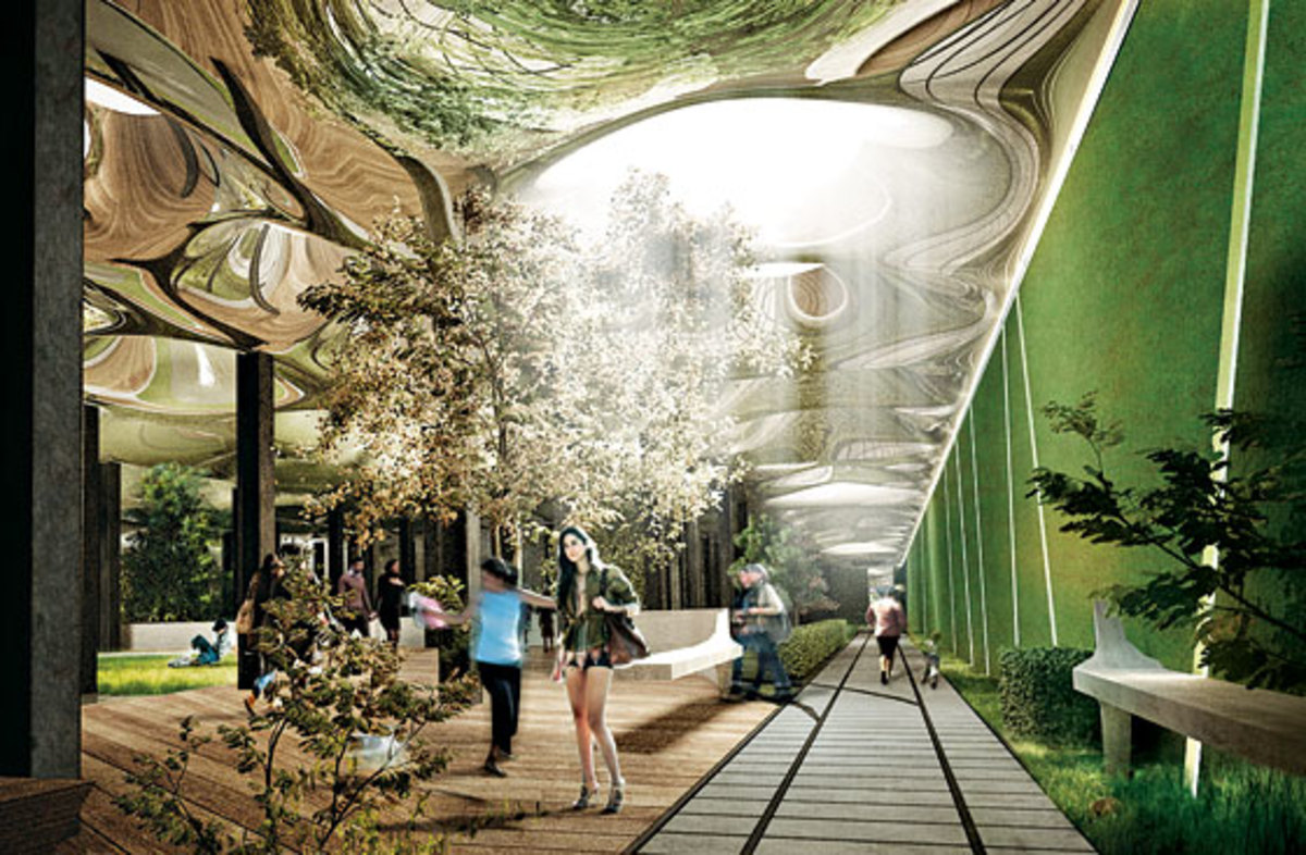 "The ""Low Line"", proposed Delancey Underground park in Manhattan"