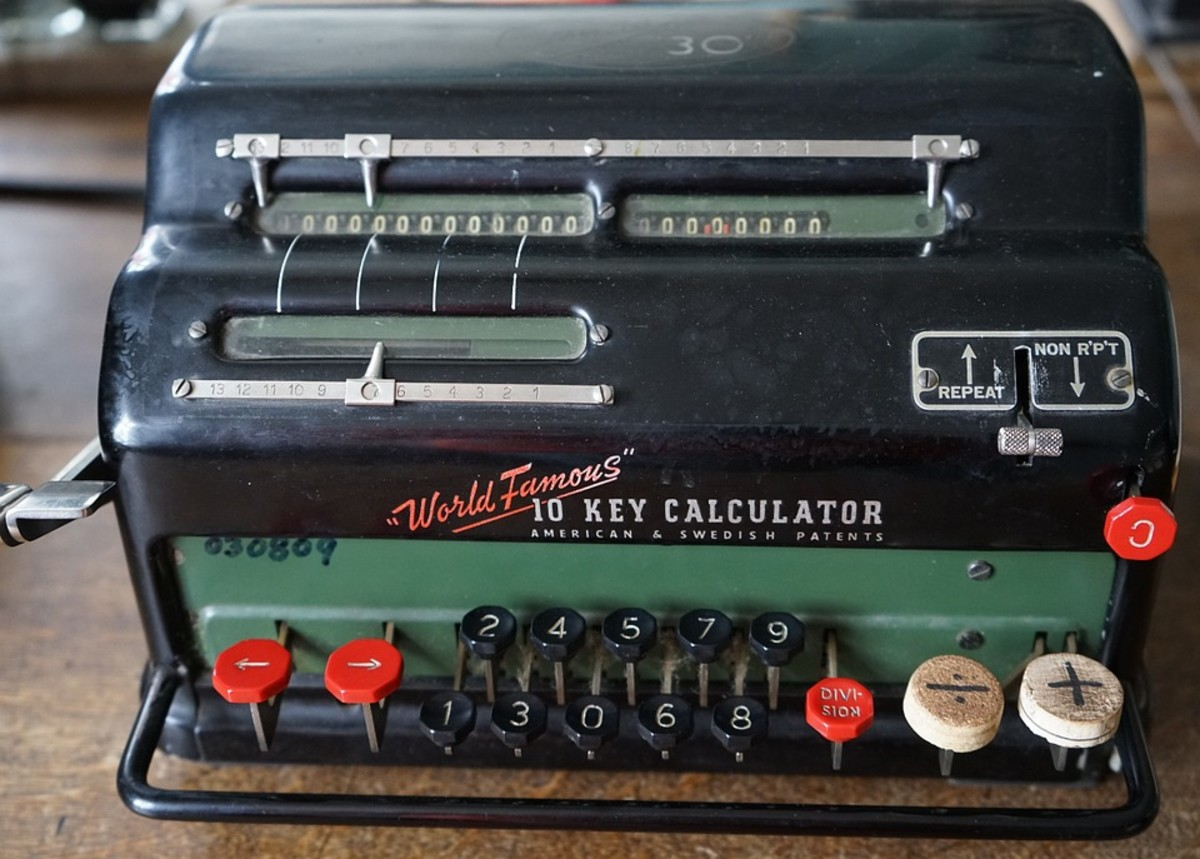Old Calculator