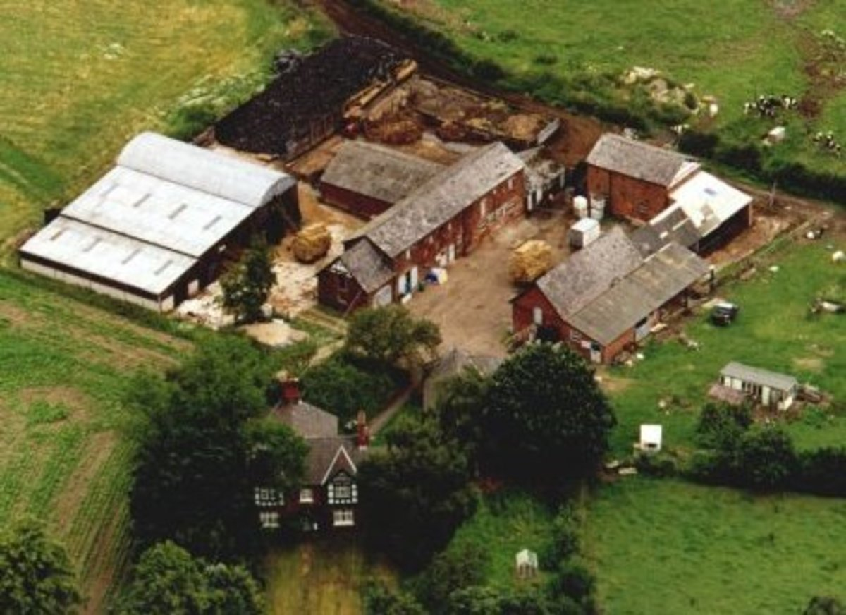 grouping-and-layout-of-farm-buildings-in-countryside