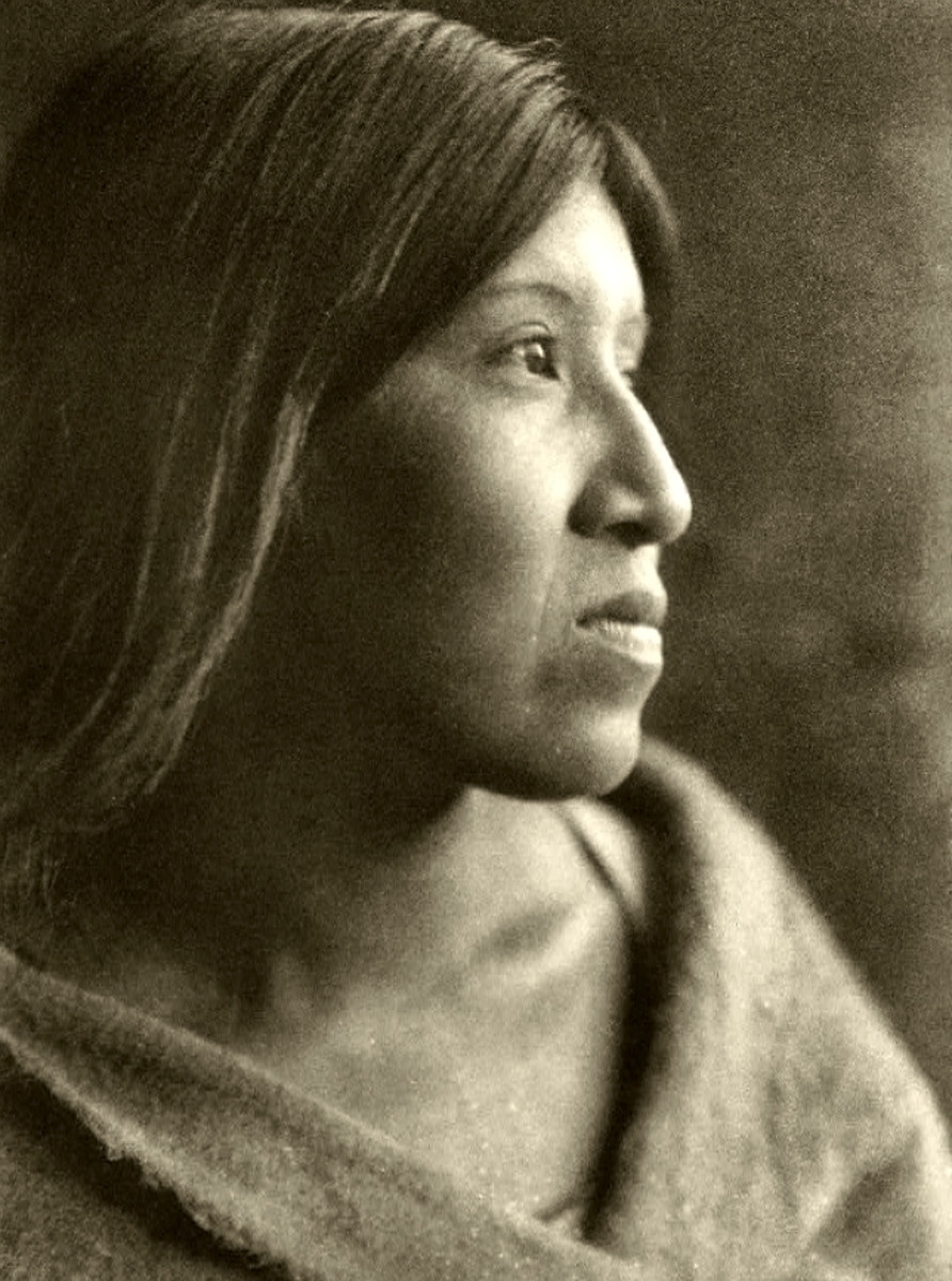Desert Cahuilla Woman by Edward S. Curtis, 1926