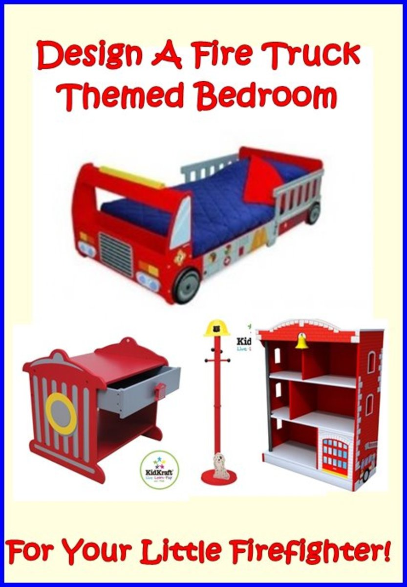 Kids Fire Truck Bed, Buy a Firetruck Bed Online For Your Little Boy