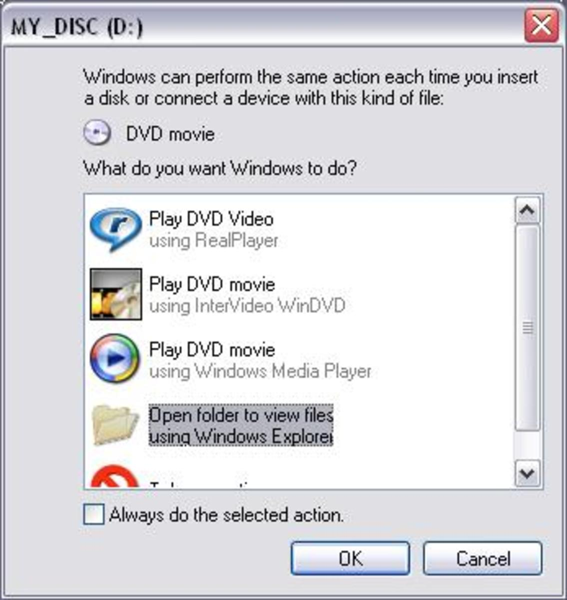 How To Copy DVD To Computer Hard drive Without Software For