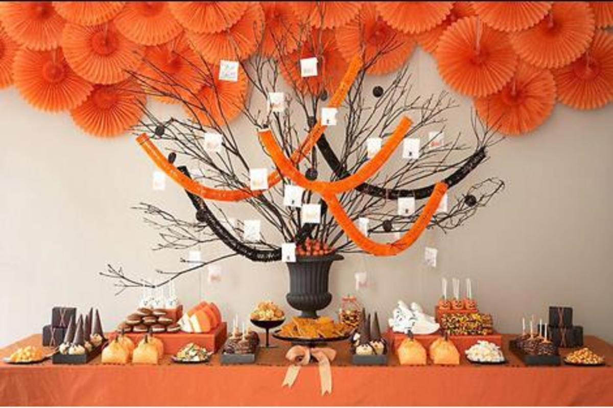 halloween pumpkin baby shower theme ideas