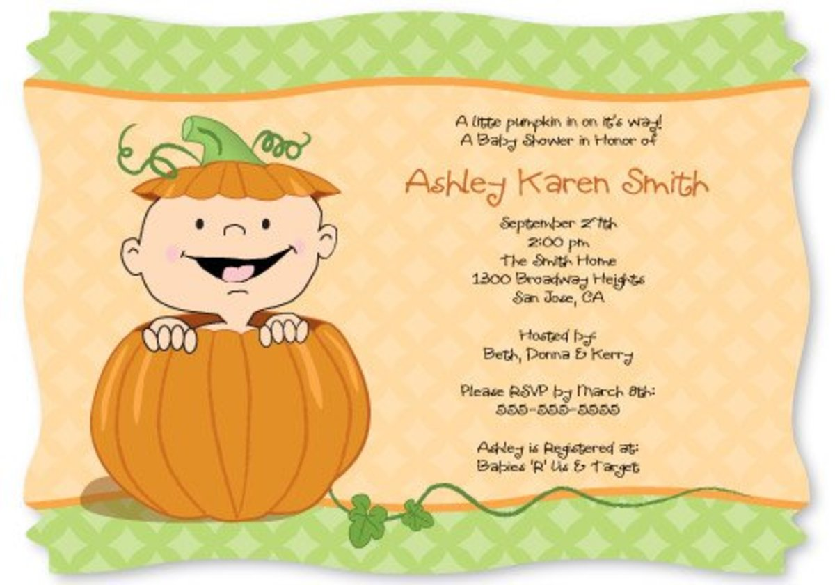 Source: www.aagiftsandbaskets.com/Theme_Baby_Shower_Little_Pumpkin.html