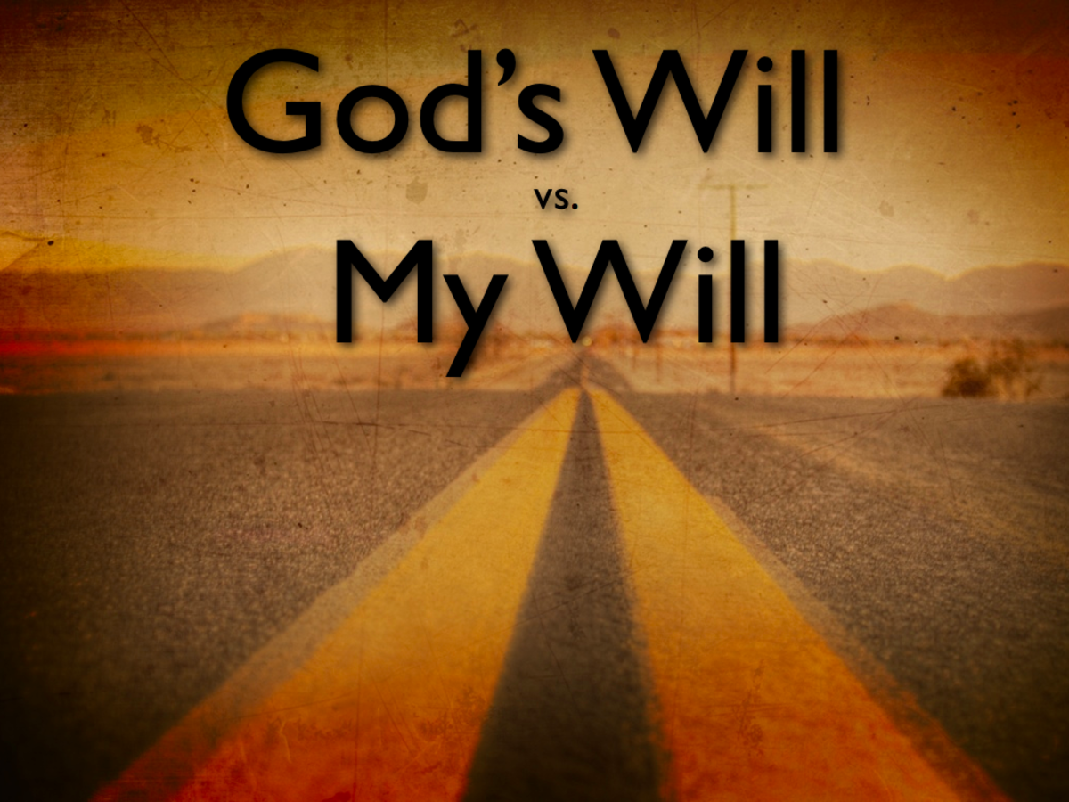 Free Will Vs the Will of God.
