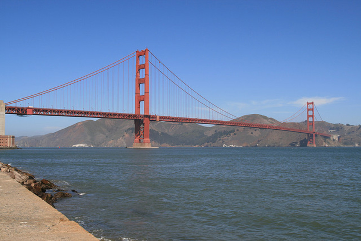 The Golden Gate Bridge, USA
