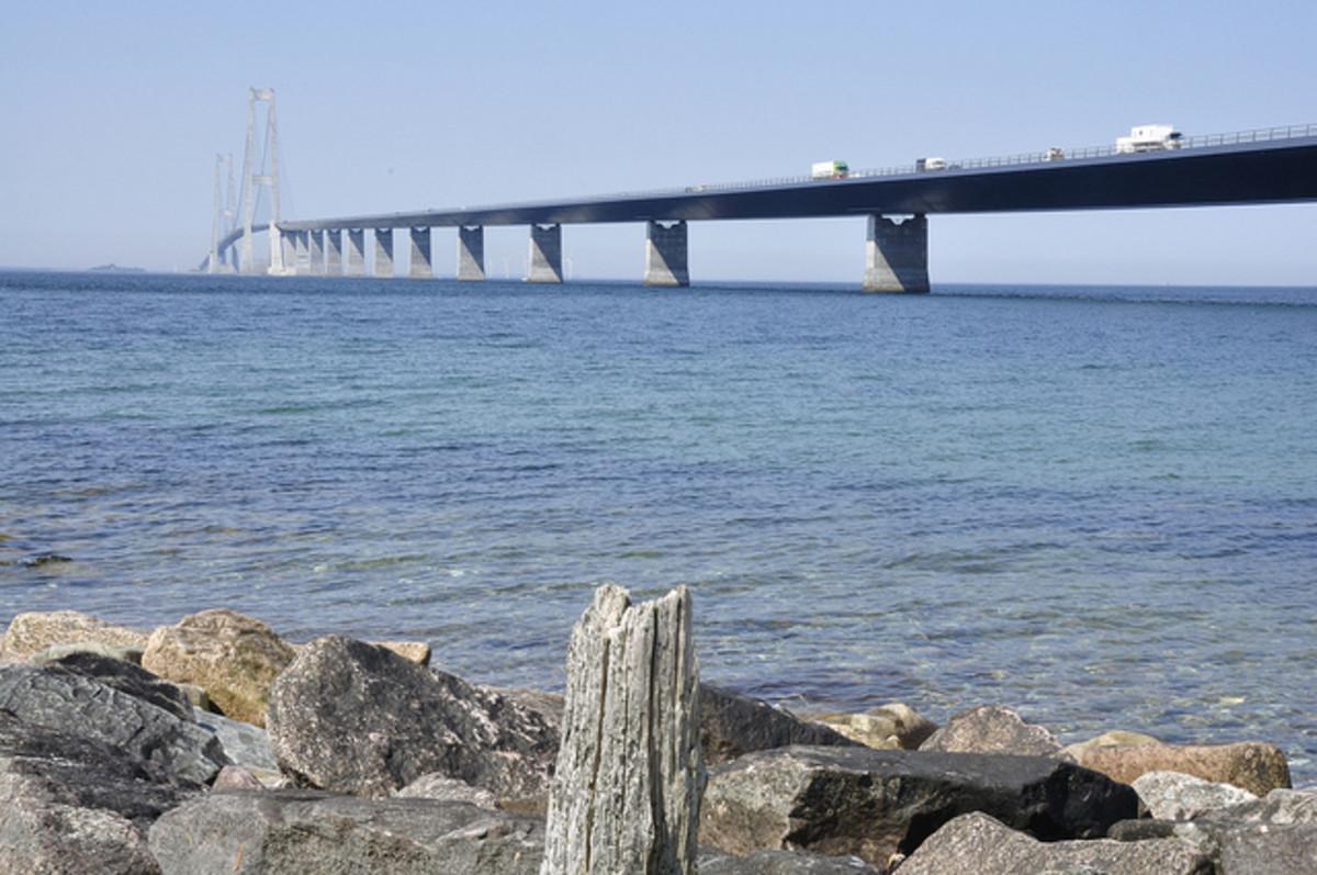 The Great Belt Bridge, Denmark