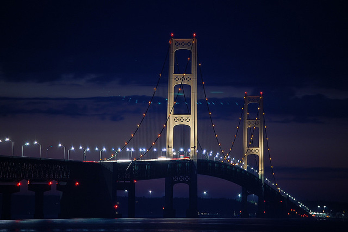 Mackinac Bridge, USA