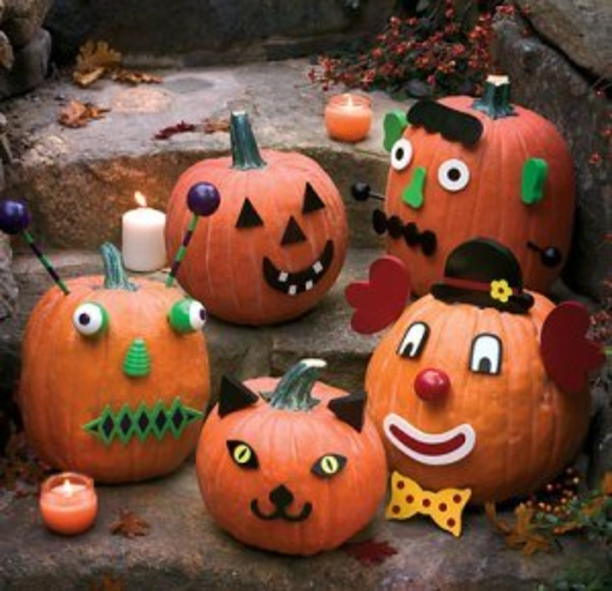 Halloween Costumes Pumpkin Decorations Coloring Pages Color Example