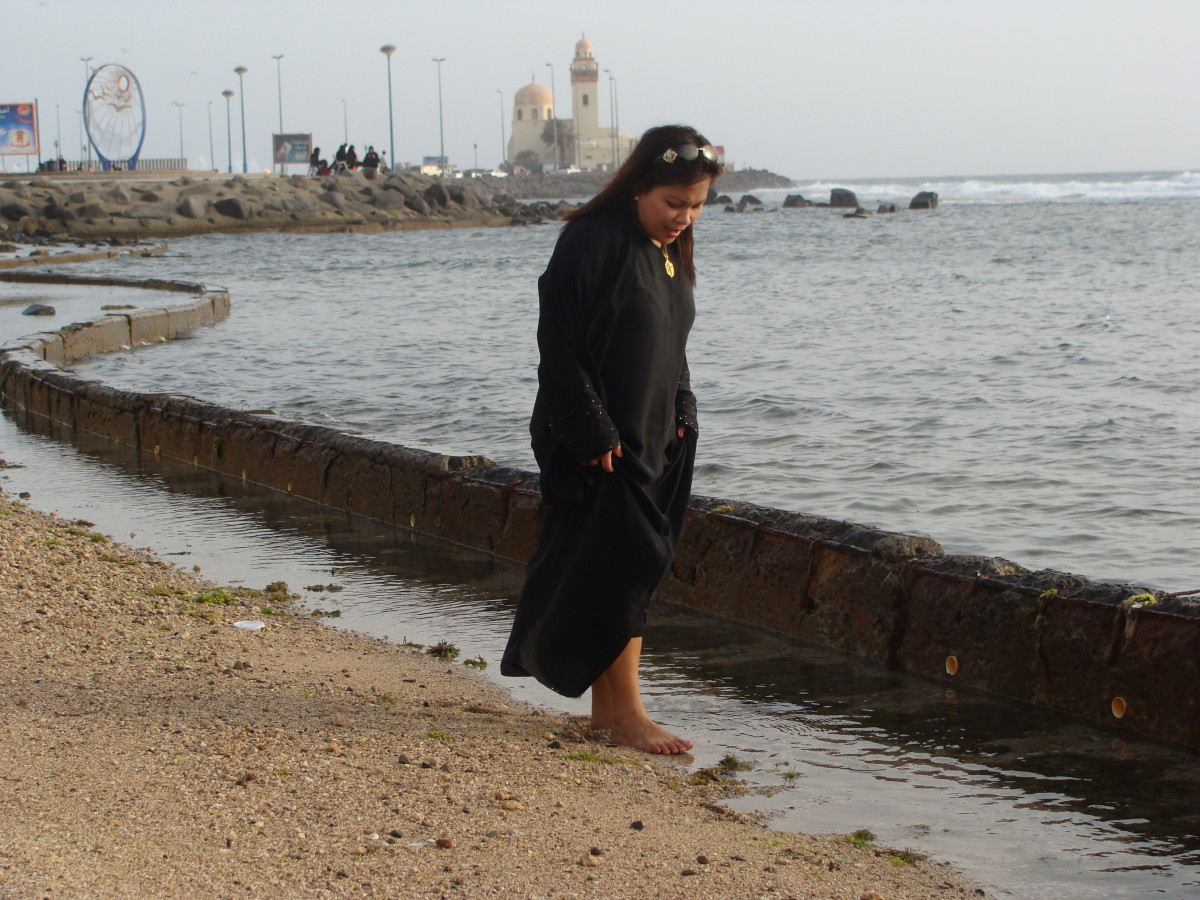 Woman in Saudi Arabia