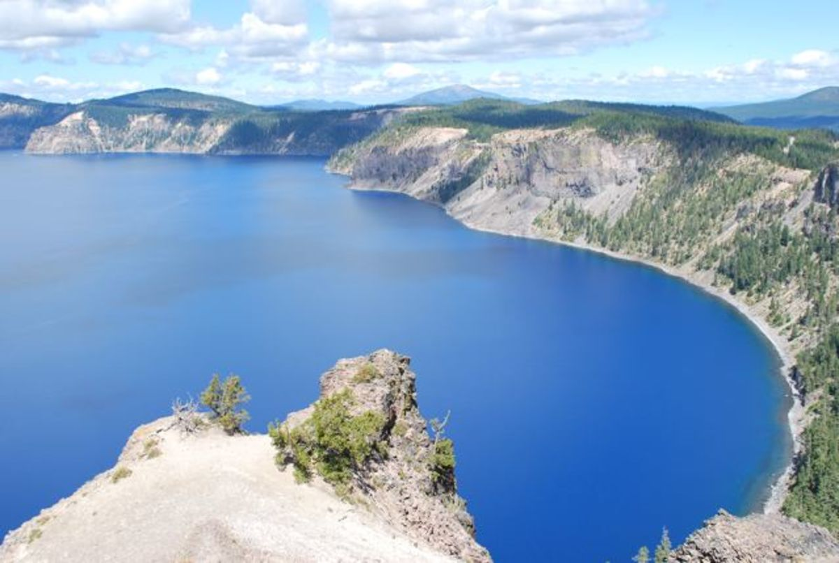 Crater Lake from the eastern side
