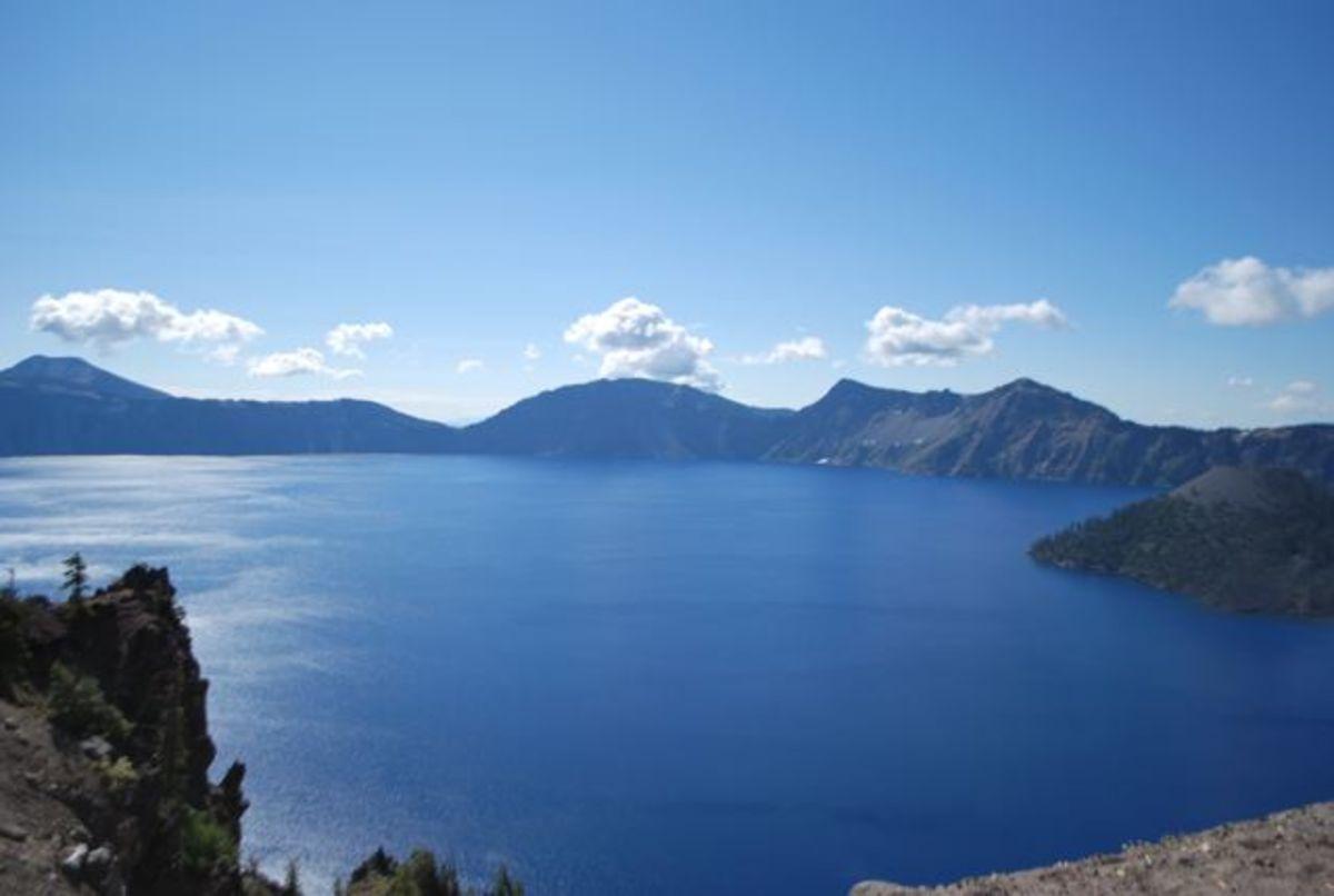 Morning at Crater Lake