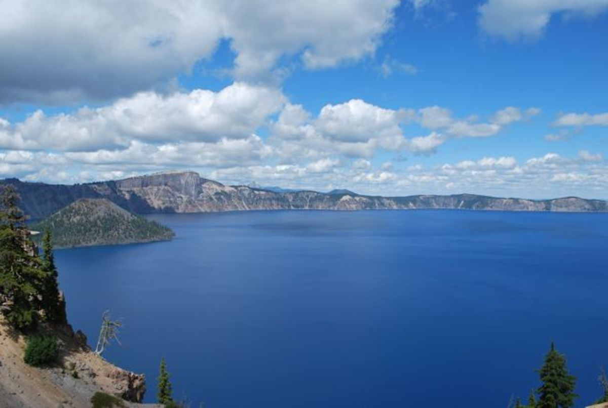 Crater Lake in August