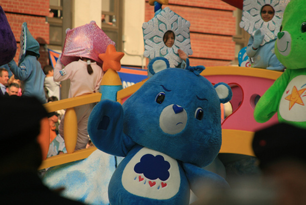 To some Christians, Grumpy Bear's attitude reflects on how occultic he is just like the other Care Bears.