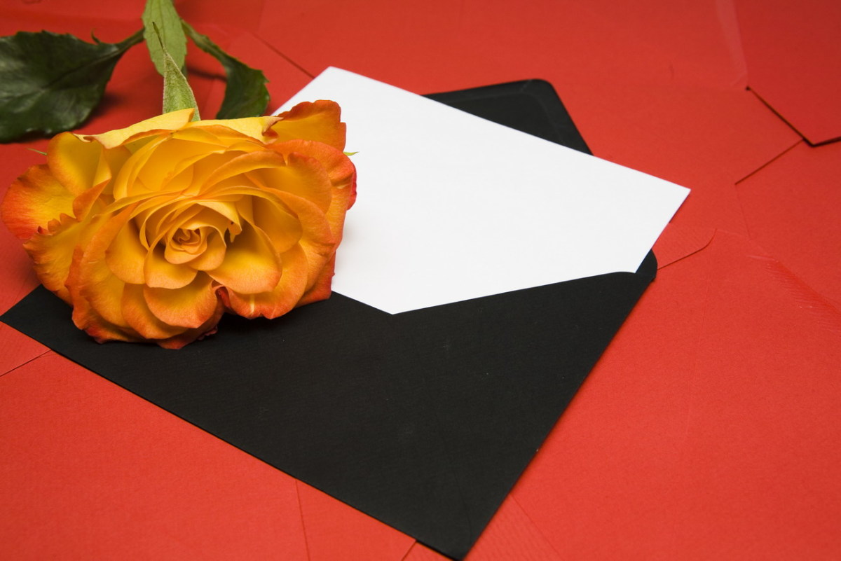 Saying sorry is easier with a card and some flowers