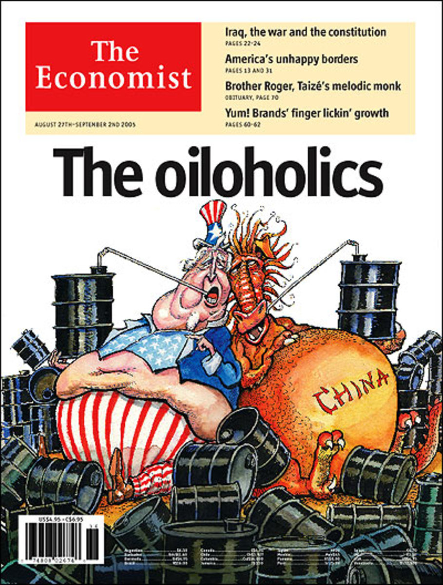 Today's Oil gluttons: Global Imperialists and World gas guzzlers: China and the US