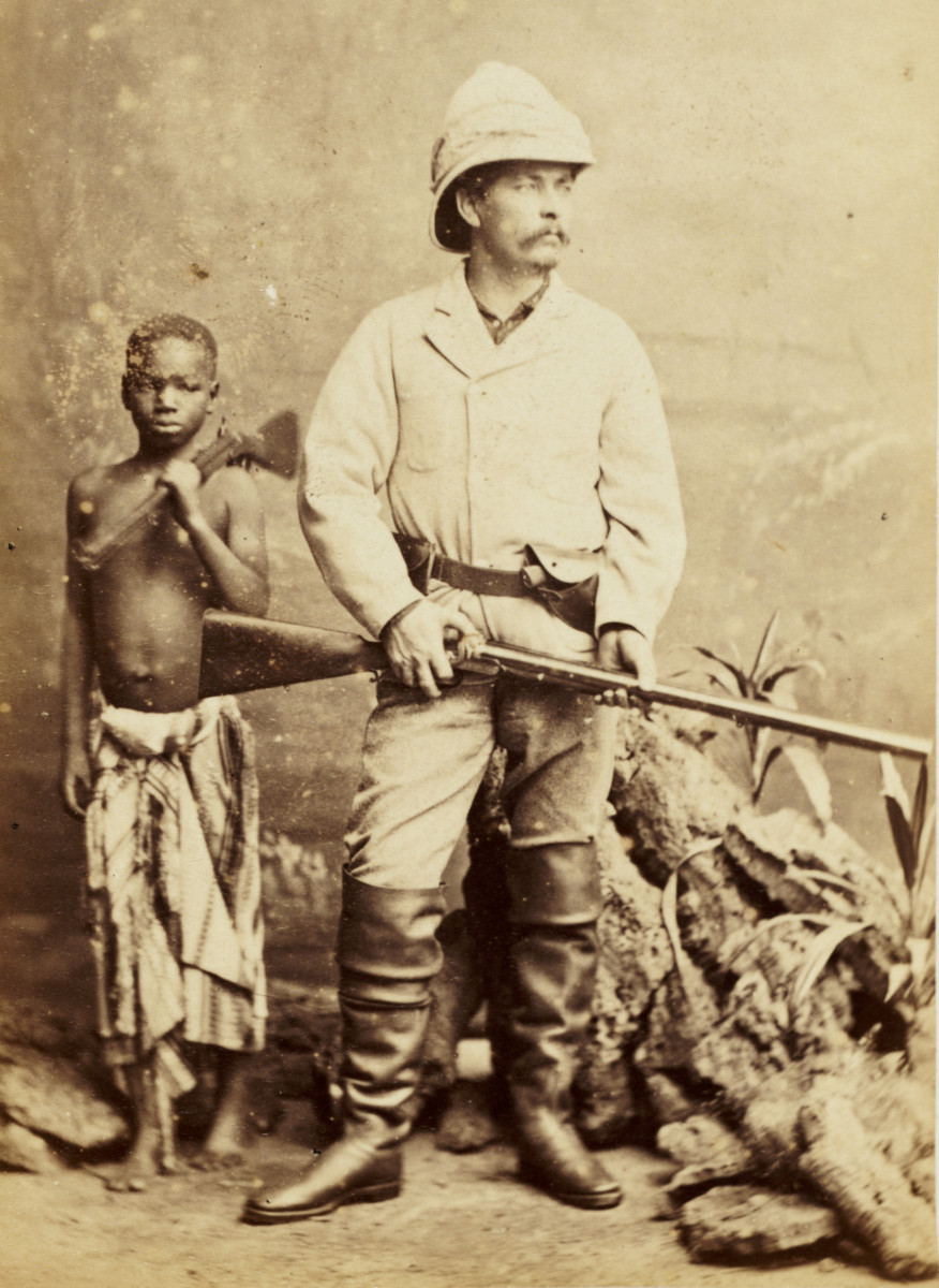 The Civilizing Mission: The Blame of those ye Better. The Hate of Those ye Guard. early pictures of colonialism