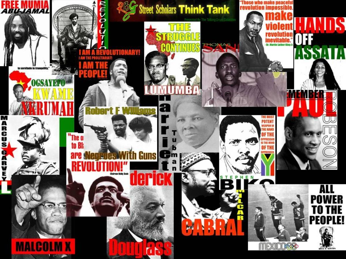 A Collage of African leaders
