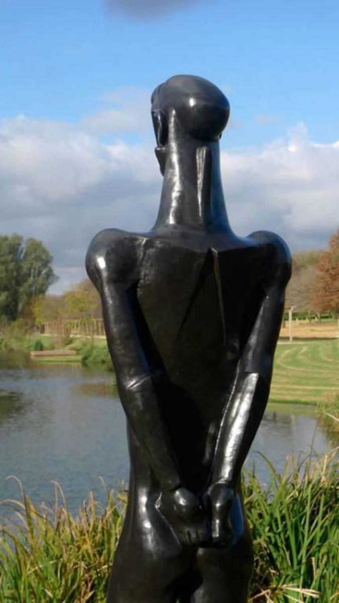 Dumile Feni's Sculpture ~ Untitled