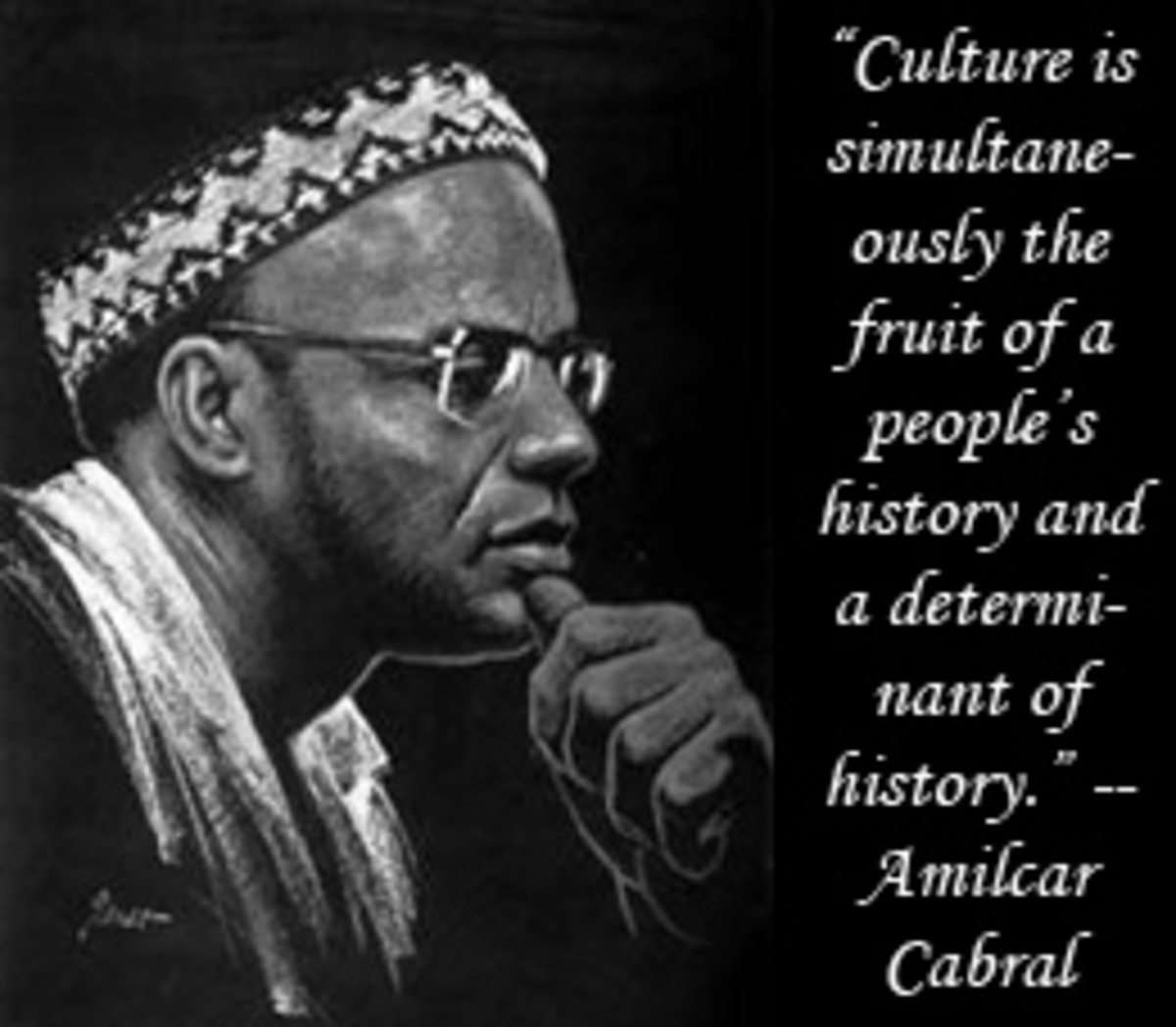 Culture And History As Liberation Tools: On his return to Guinea, Cabral and a handful of others set up a political party, the PAIGC. They aimed to turn the colonial system upside down by working with the people of Guinea to improve the conditions of