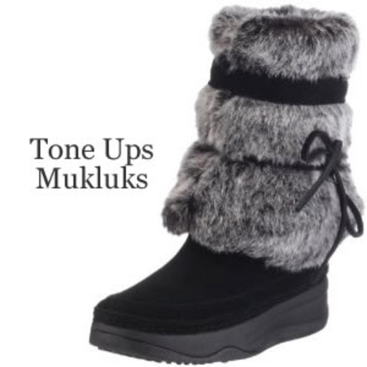 Skechers Tone Ups Mukluk Boots