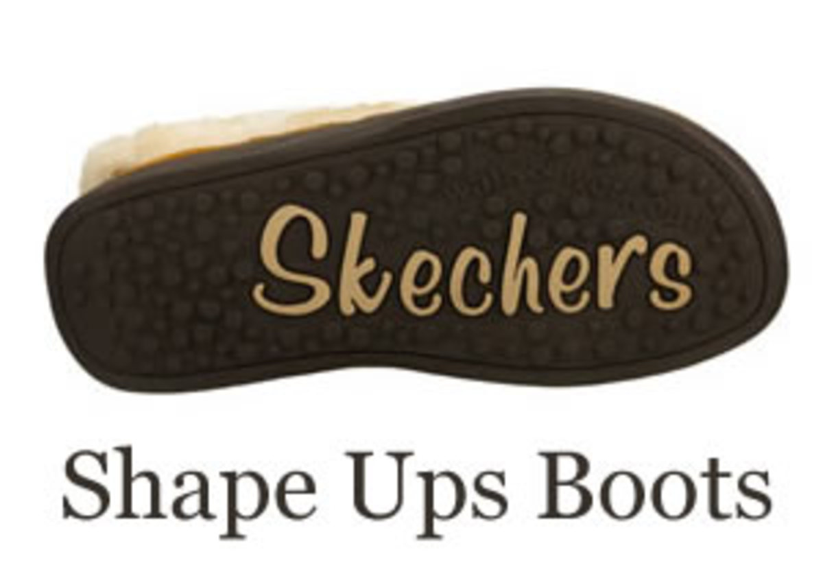 Skechers Shape Ups and Tone Ups Toning boots