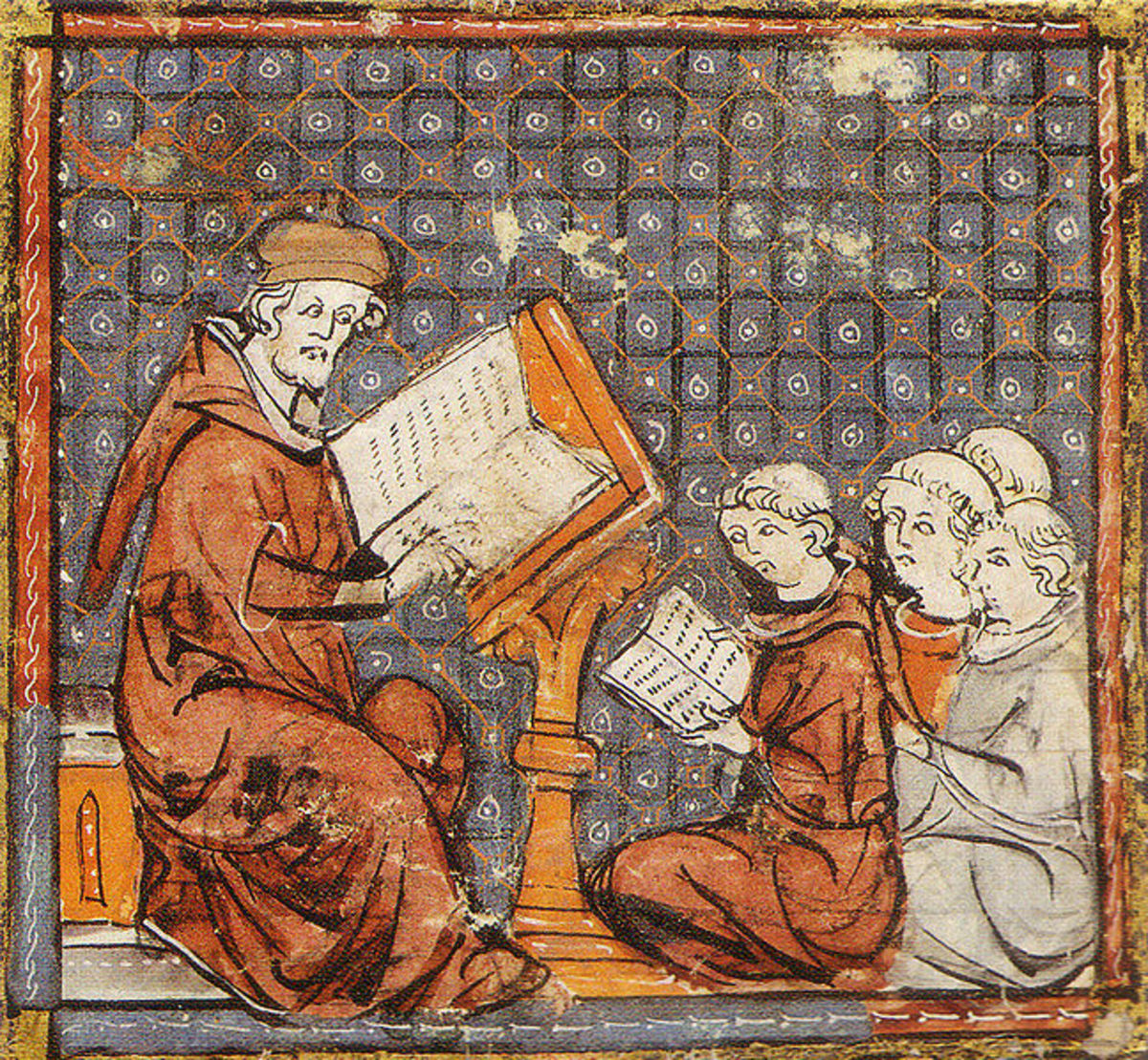 Classes in a medieval university