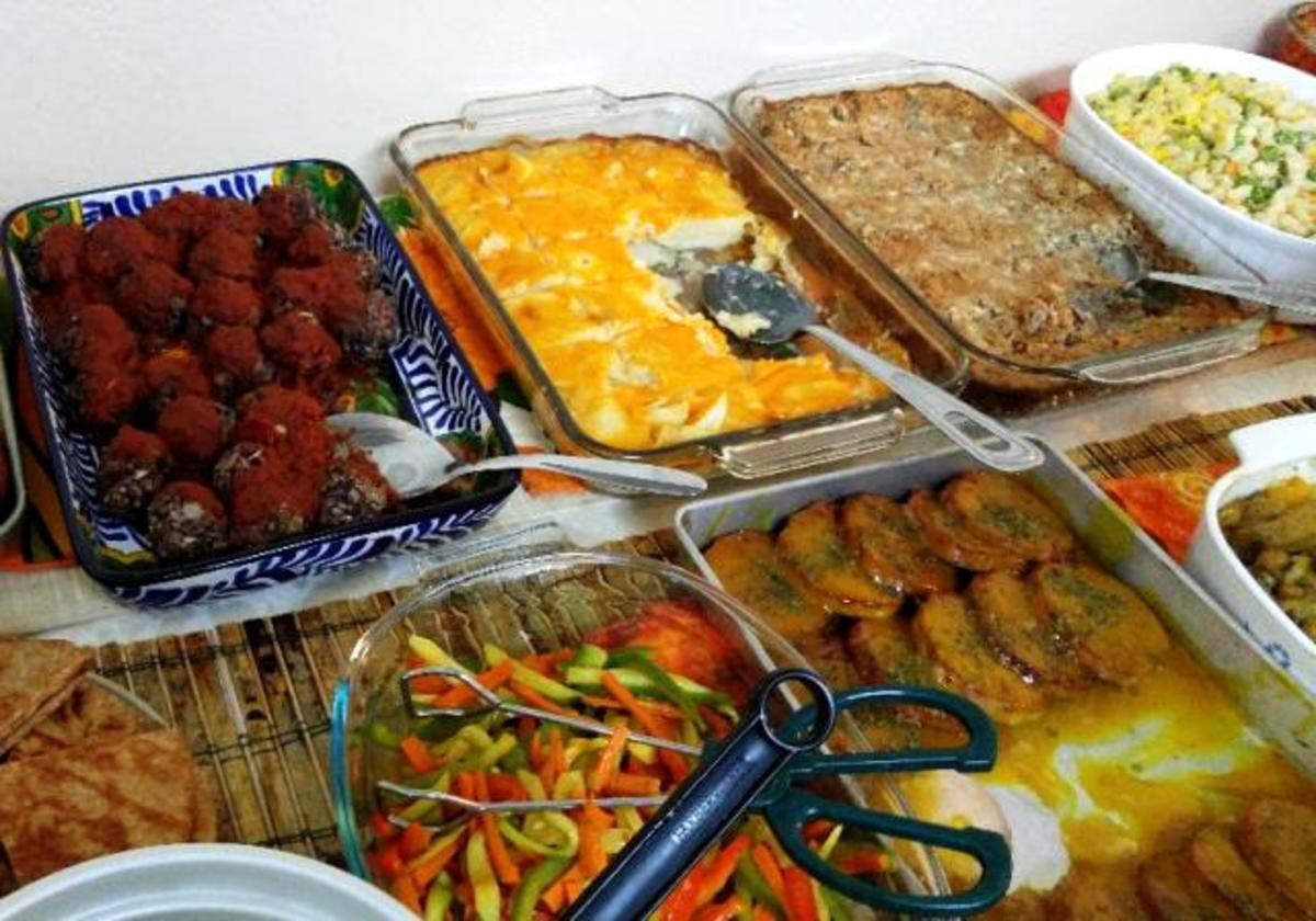 Seventh-day Adventist Potluck Dinner at the Port Alberni, BC Church