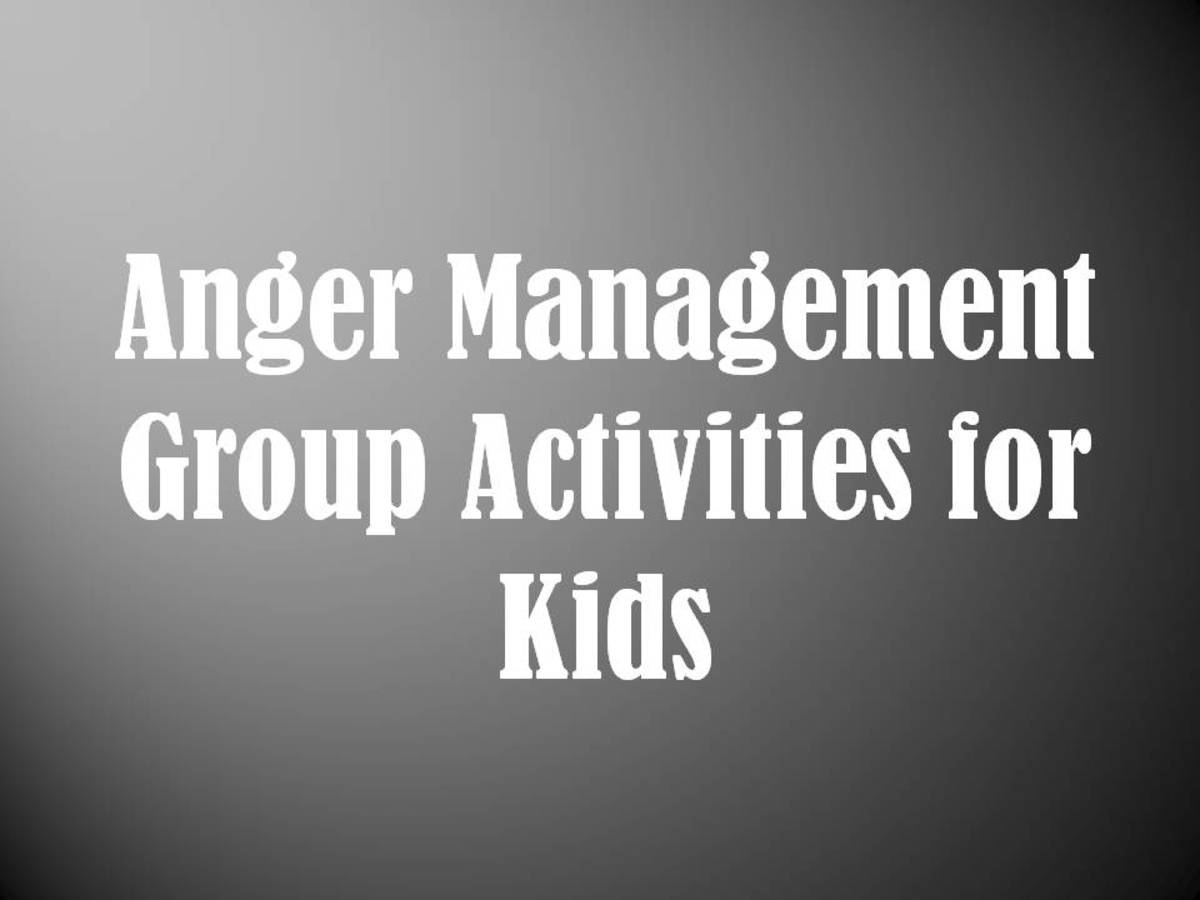Anger Management Group Activities for Kids: Mental Health Groups for Children
