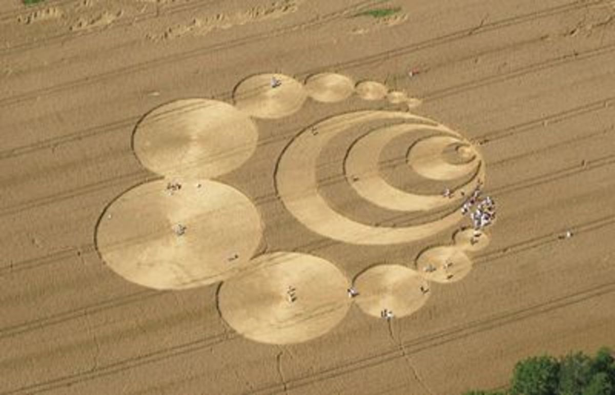 One of many crop circles