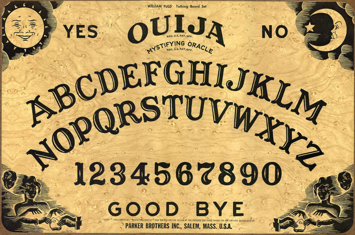 Is a Ouija Board dangerous or can it be used by Ghost Hunters to make contact with spirits or ghosts.