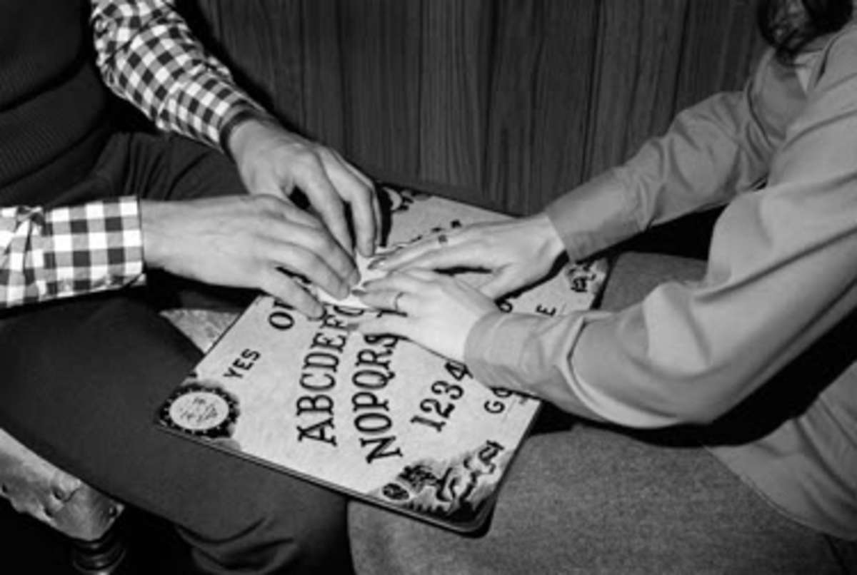The Ouija Board And More For Those Interested In The Paranormal