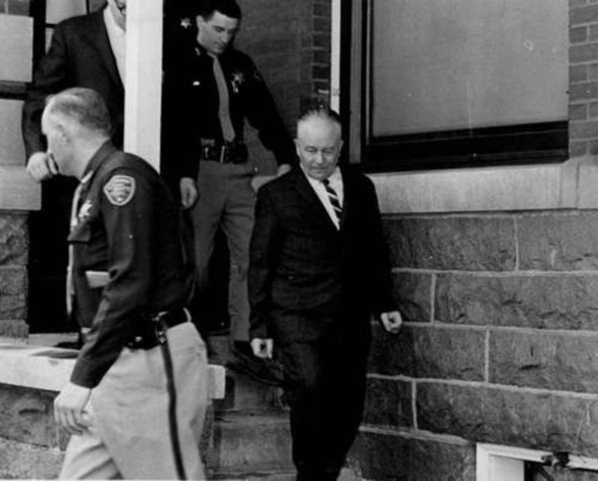 Edward Gein Leaving His Trial