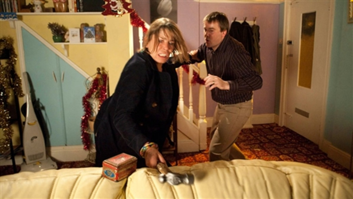 Meanwhile John murders Charlotte and tries to pass her body off as a tram victim