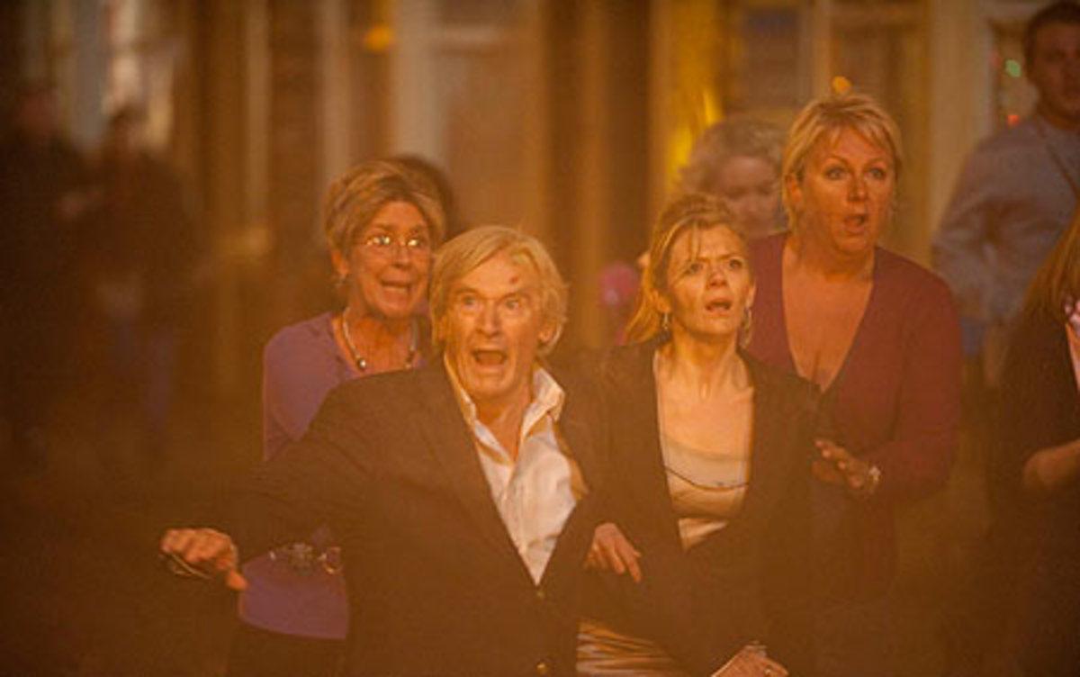 """Then we see Ken shout """"Get Dowwwwwwwwwn!!"""