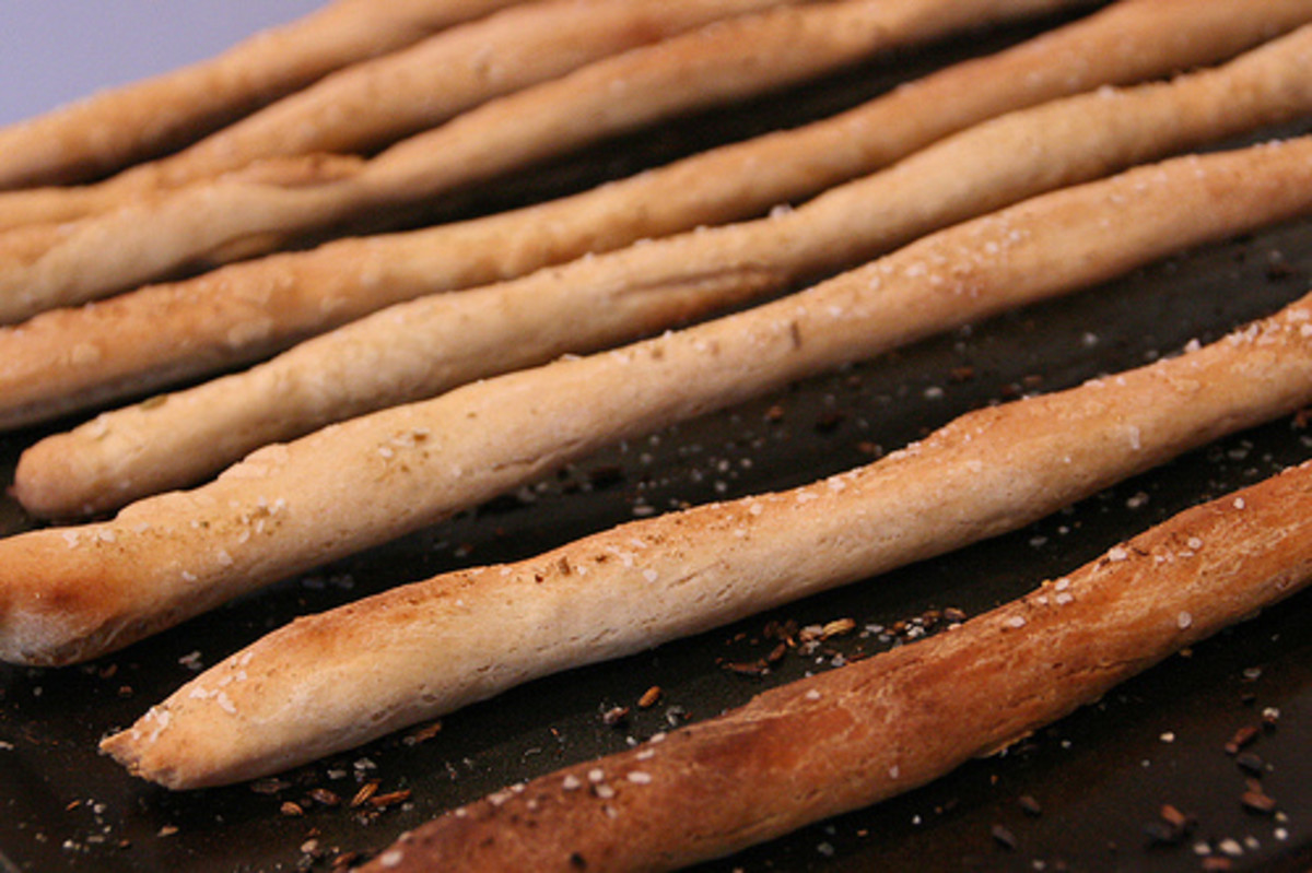 Delicious Breadsticks
