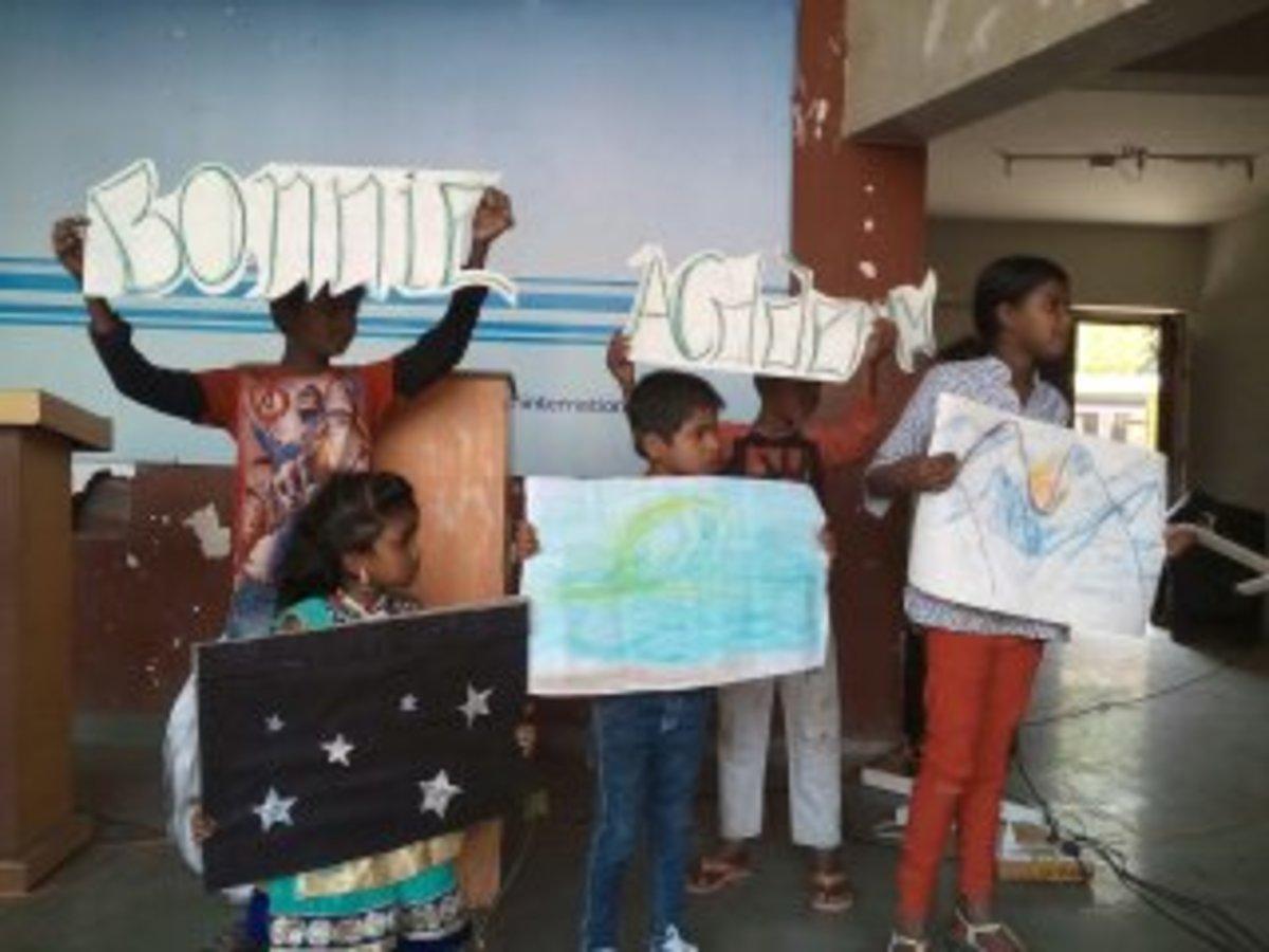 Bonnie Academy display