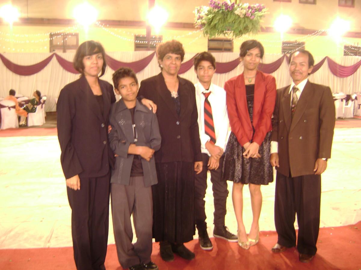 Rev. Pastor Marson's Family