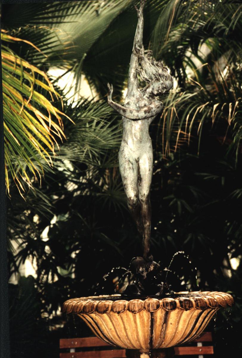 bronze foundain