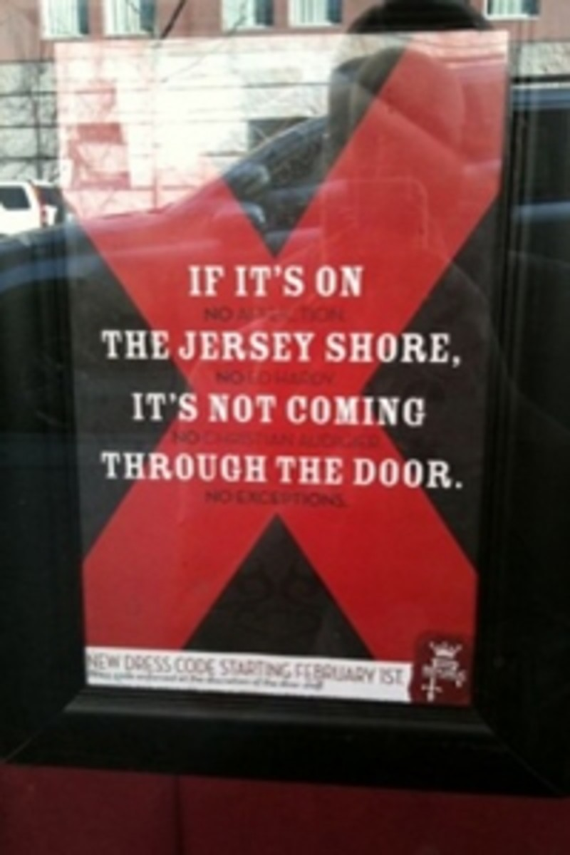 Signage outside New Orleans club 'The Republic'