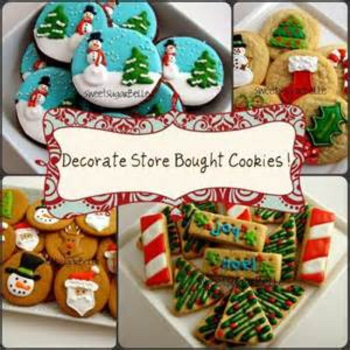 decorate store bought cookies for that special event
