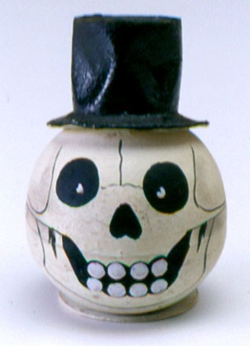 Skull Wearing A Top Hat
