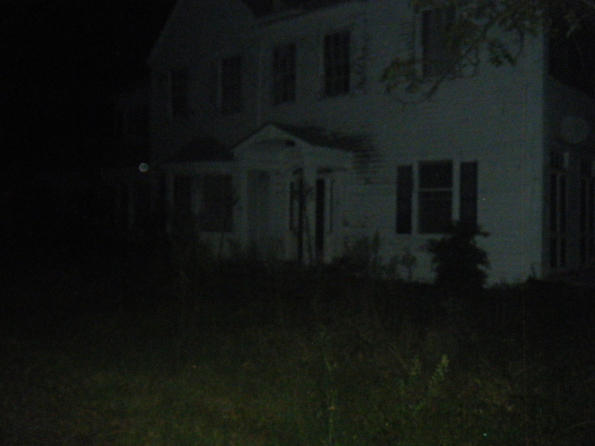 Another Real Haunted House In This Photo