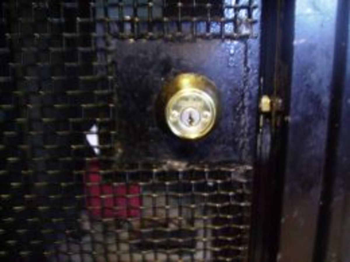 A typical Kwikset lock at Project Bow