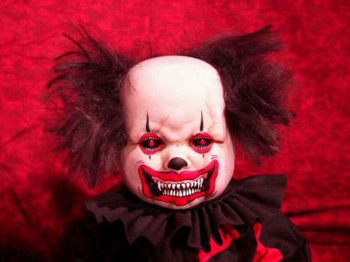 Scare Everyone and be an Evil Clown for Halloween