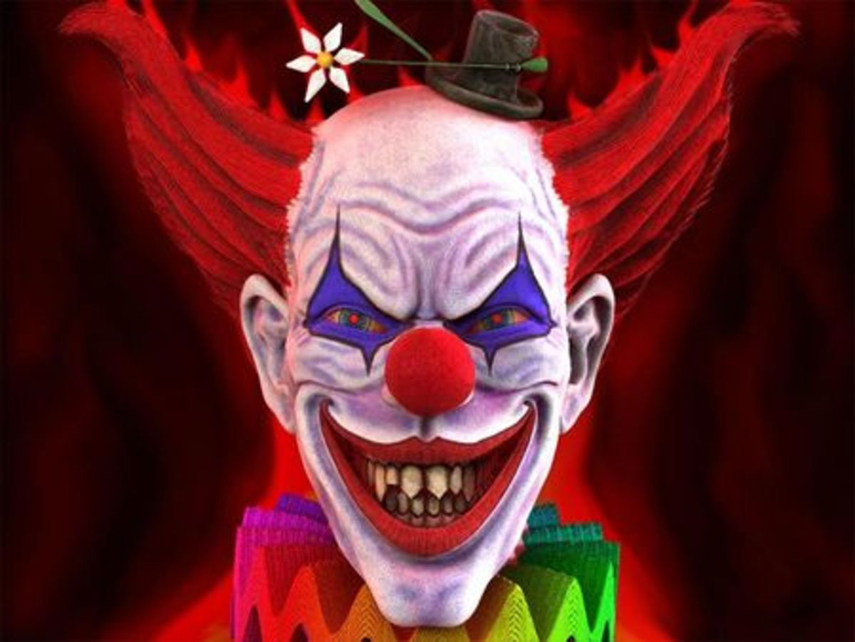 Scare Everyone and be an Evil Clown for Halloween | HubPages